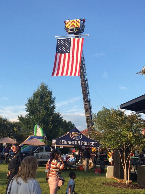 National Night Out - Flag