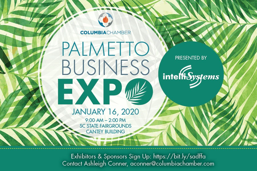 Picture of the Palmetto Business Expo logo
